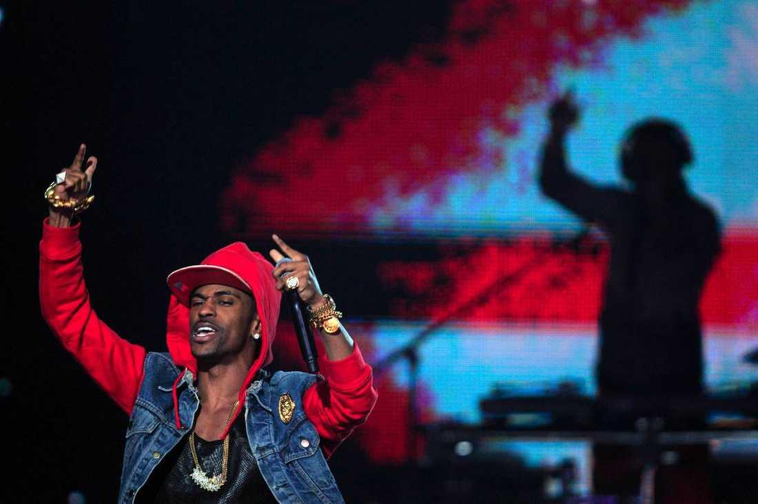 Big Sean spelade också under kvällen.