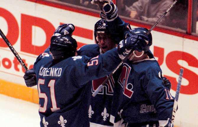 FICK SISTA ORDET Det var dock Forsberg och hans Quebec som fick sista ordet. Quebec vann matchen i Philadelphia med 3 1.