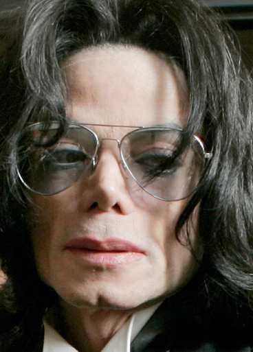 Michael Jackson –lättad efter att ha blivit förklarad oskyldig.