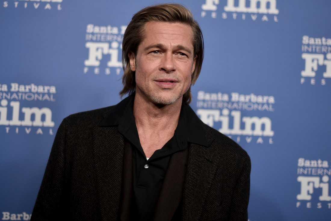 Brad Pitt är berättarrösten i en ny reklamfilm för presidentkandidaten Joe Biden. Arkivbild.