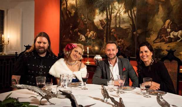 Rickard Söderberg, Gunhild Carling, Paul Tilly och Alexandra von Schwerin.
