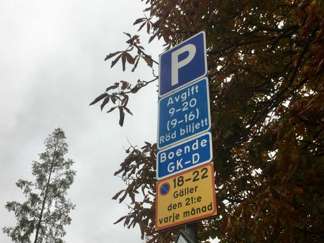 Billig parkering malmö