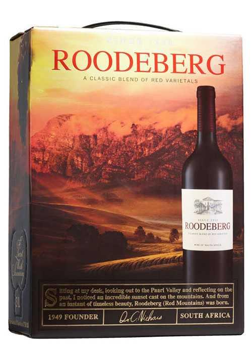 """""""Det här röda vinet från Sydafrika genomgående haft höga betyg genom åren. Många väljer gärna Roodeberg till grillat"""", tipsar Stefan."""