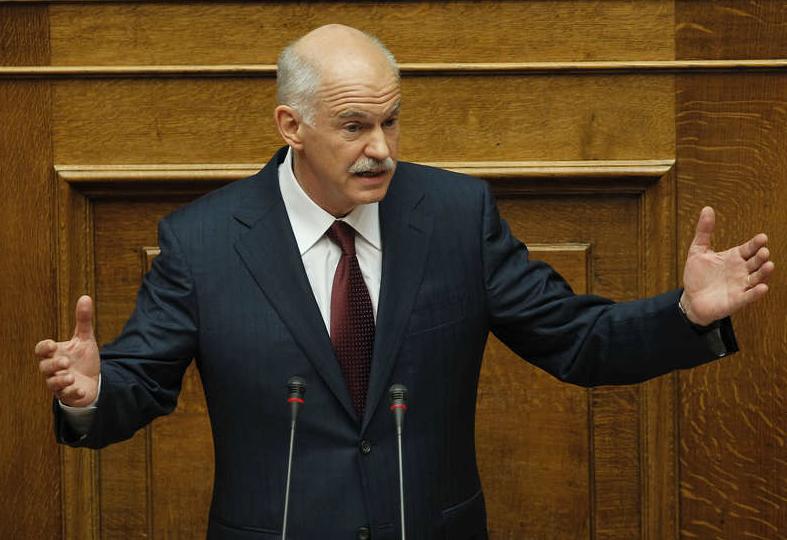 Greklands premiärminister Giorgios Papandreou.