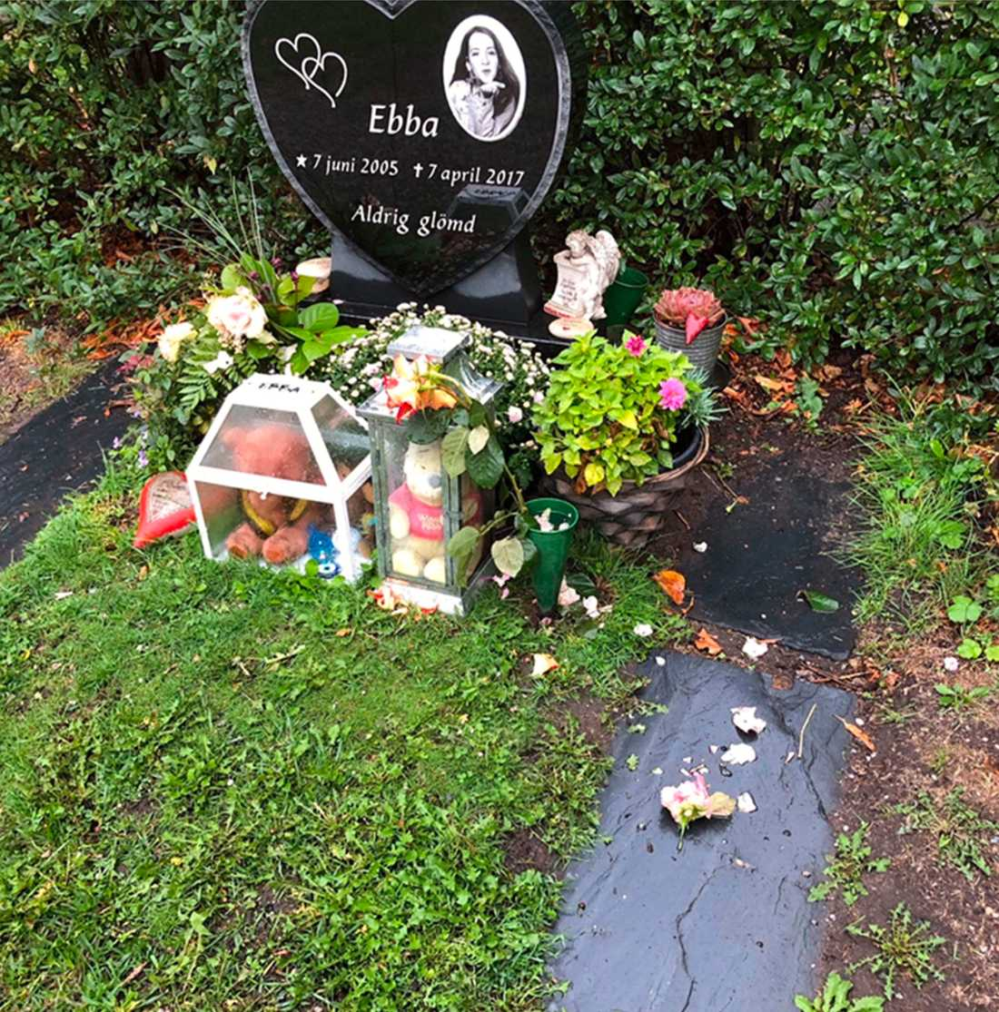 Ebbas gravplats.