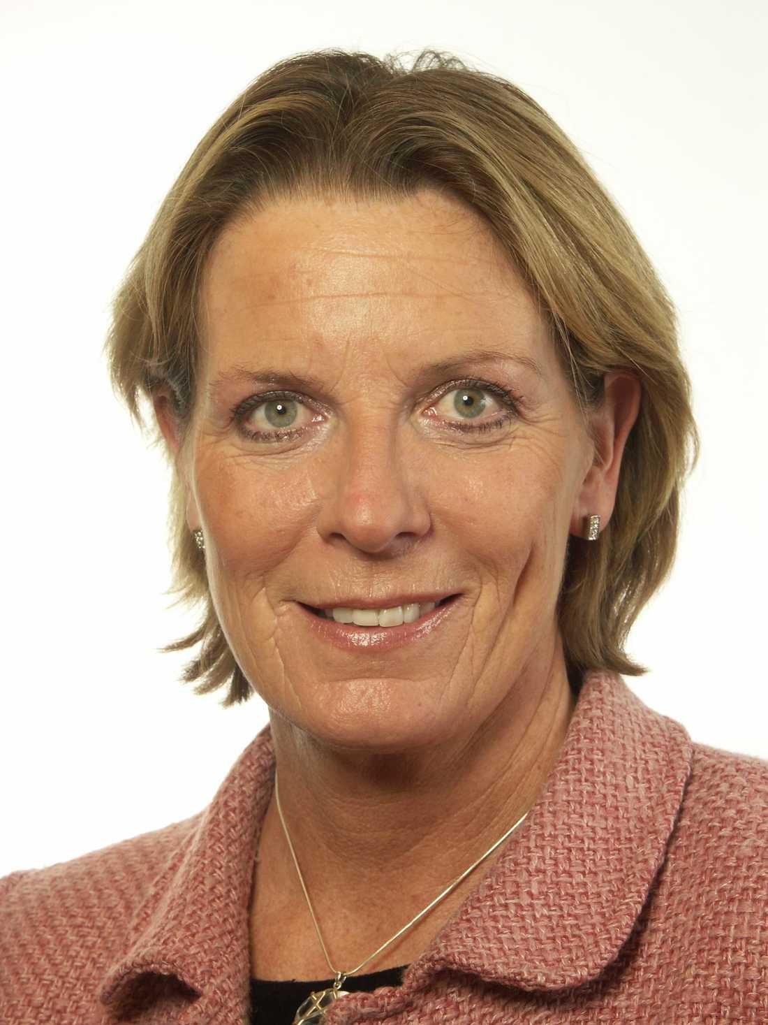 Helena Bouveng (M), ledamot i riksdagens justitieutskott.