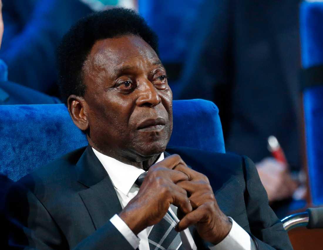 Pelé mår mycket dåligt enligt hans son Edinho.
