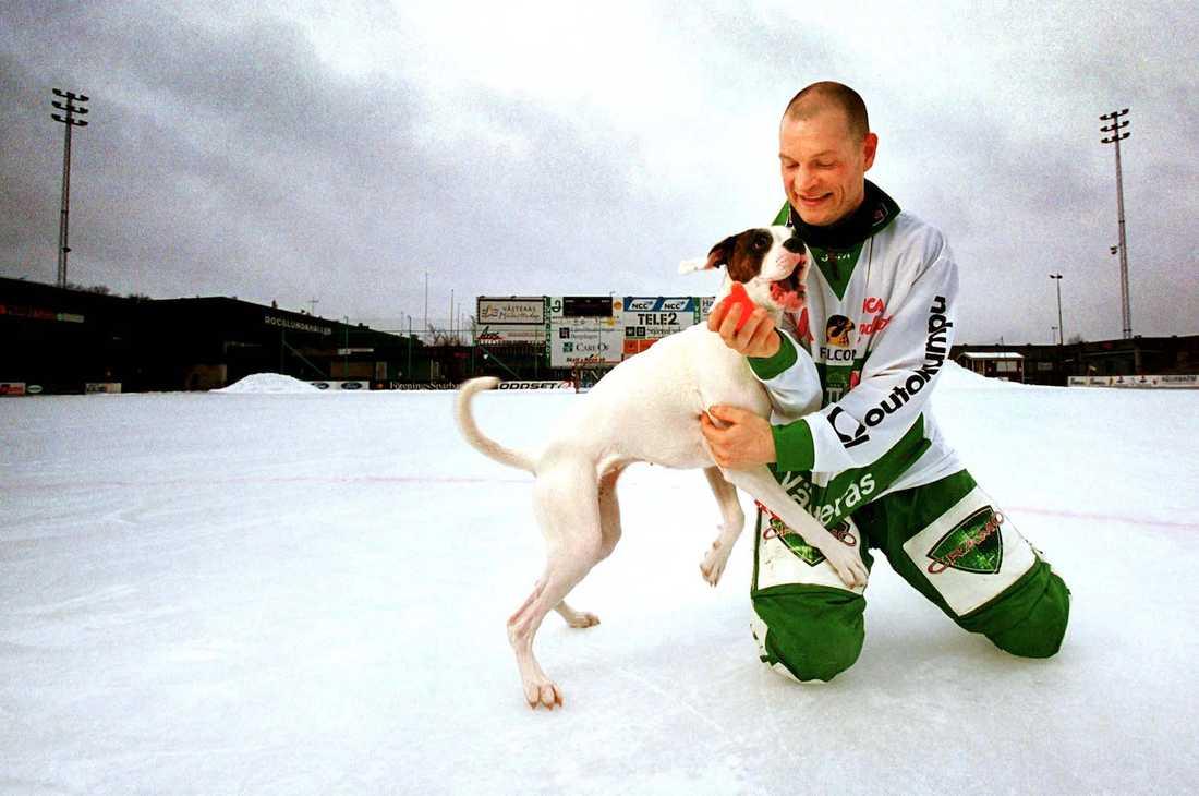 Med hunden Love 2001.