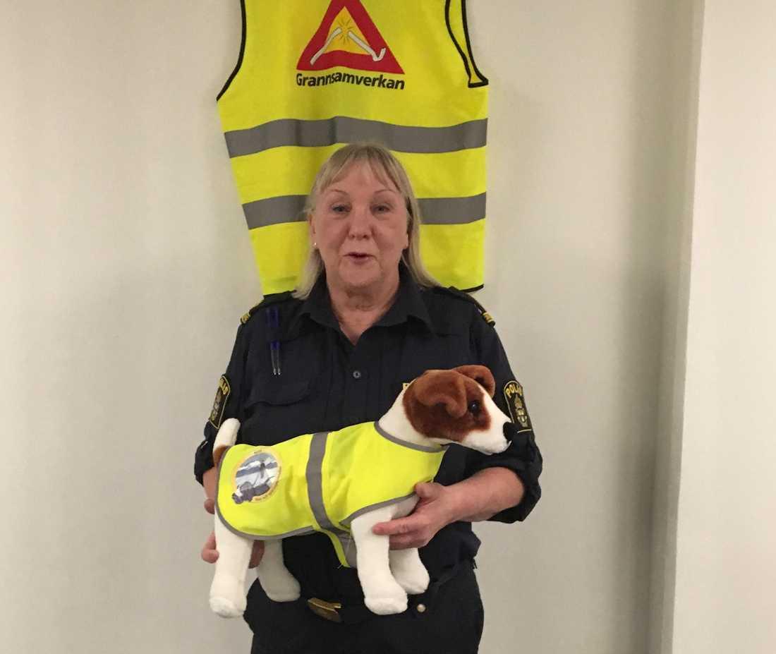Kerstin Malm har länge funderat på hur polisen ska kunna få mer praktisk hjälp från hundägare.