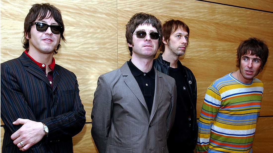 Oasis 2006. Från vänster Gem Archer, Noel Gallagher, Andy Bell och Liam Gallagher.