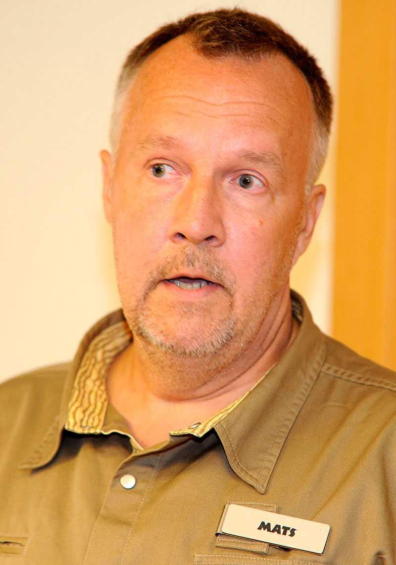 Mats Höggren, zoologisk chef på Kolmården.