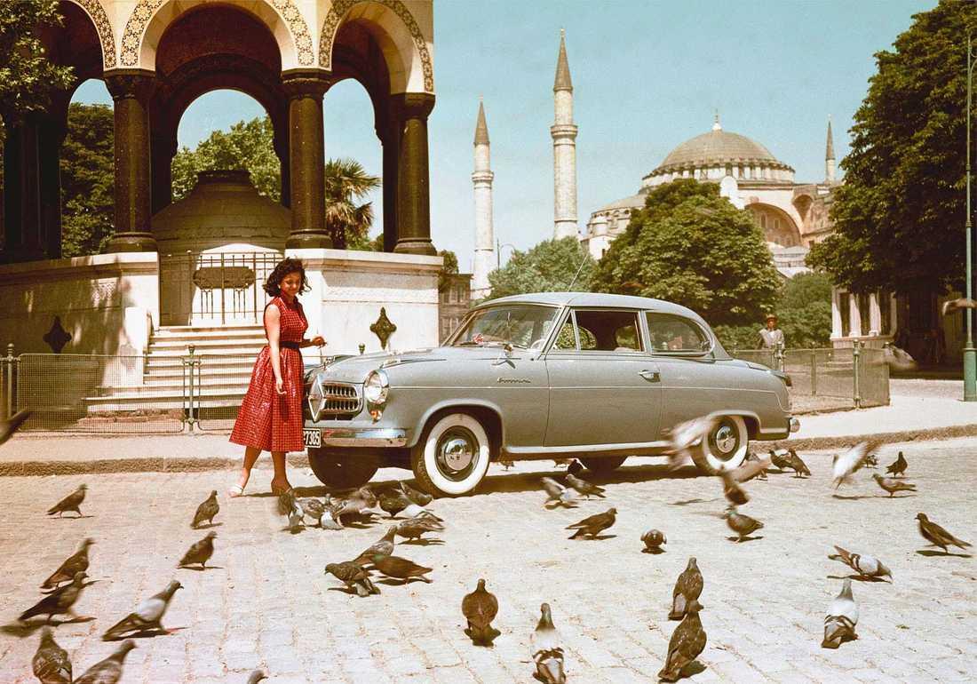 Tidigare i år avslöjades att märket Borgward återuppstår. På Frankfurt-mässan ska de visa upp en första modell, en suv. På bilden: en Isabella som byggdes mellan 1954 och 1962.