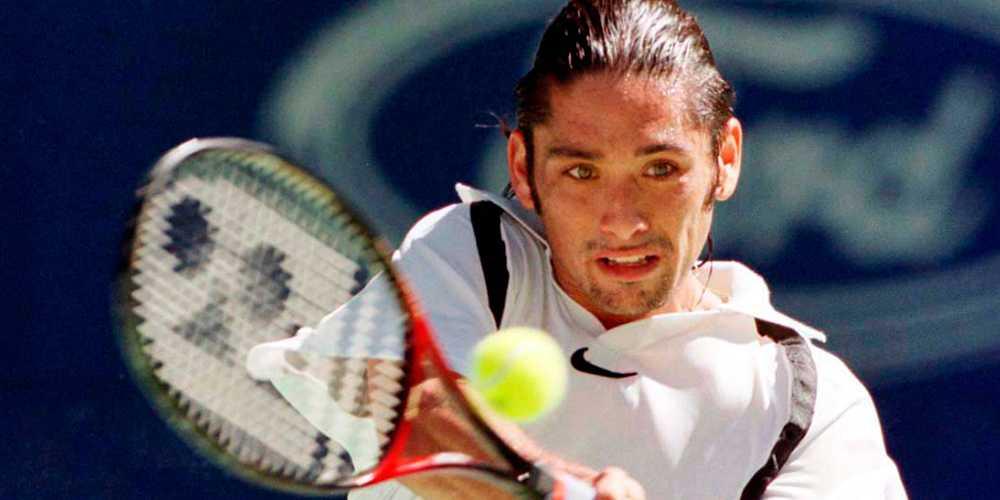 Marcelo Rios under Australian Open 1998.