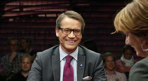 Humorn är Göran Hägglunds starka kort, menar retorikexperten Elaine Bergqvist.