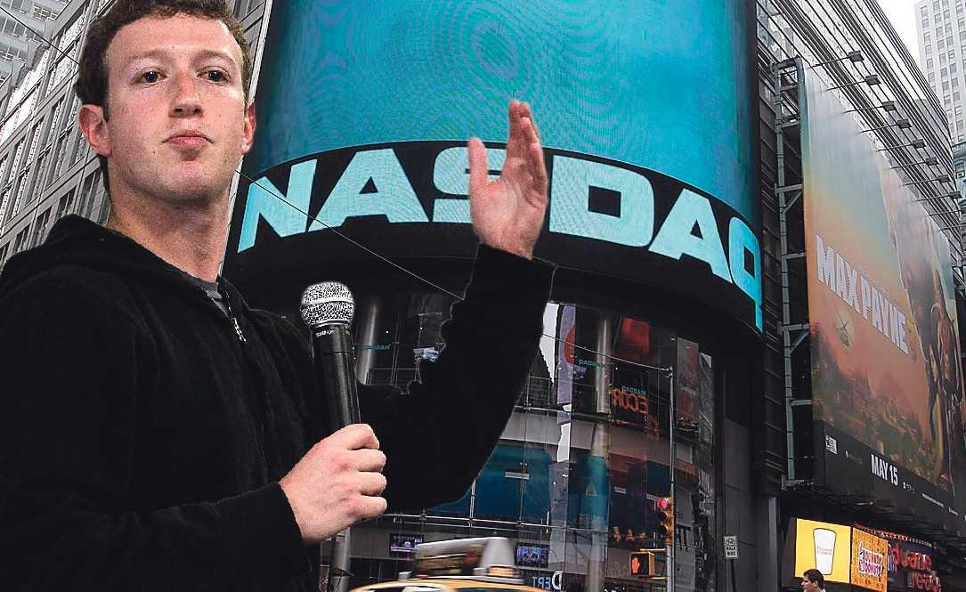 Rekordvärdering Mark Zuckerberg och hans kollegor kunde glädjas åt aktiernas värdering på 750 miljarder kronor när Facebook börsnoterades i förrgår. Det sanslöst höga priset måste motiveras. Bilden är ett montage.