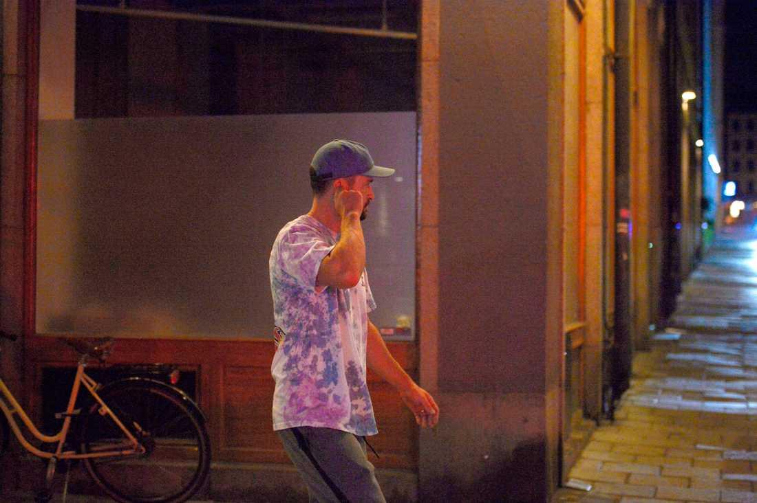 Justin Timberlake i Stockholm.