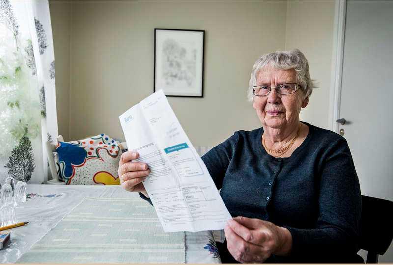 01cf8f266e8 Britta Gustafsson, 83, fick hem en faktura för pizza, hamburgare, kyckling  och