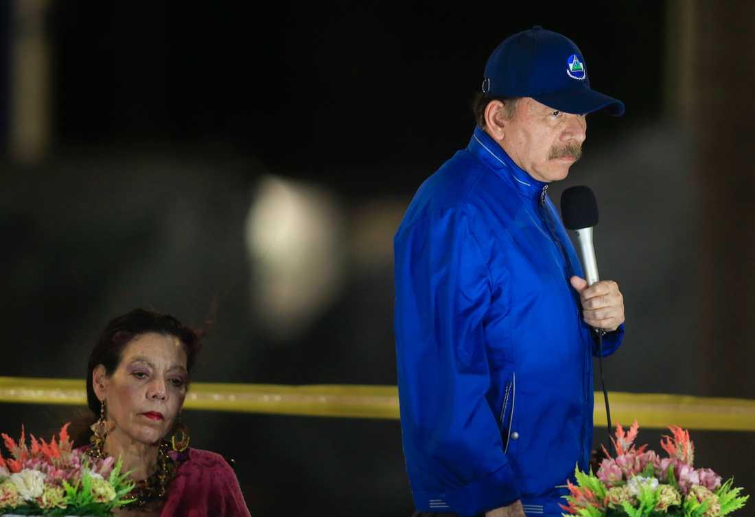 Kritiker menar att de nya lagförslagen är ett sätt för Nicaraguas president Daniel Ortega att begränsa sina kritiker. Arkivbild.