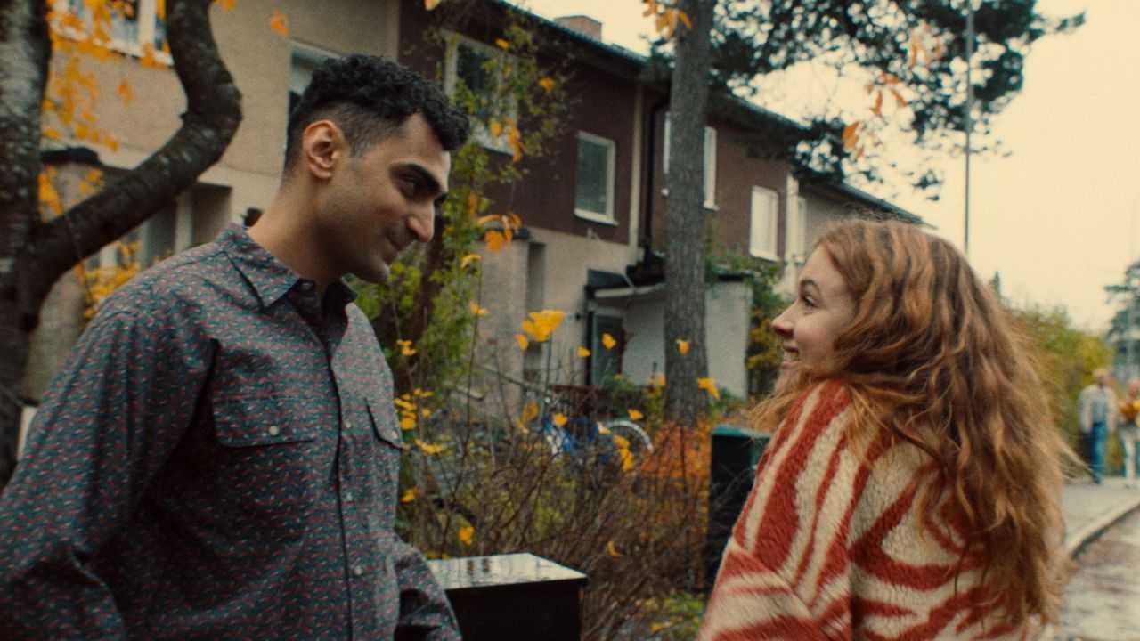 "Alexander Abdallah och Amy Deasismont i ""Thunder in my heart""."