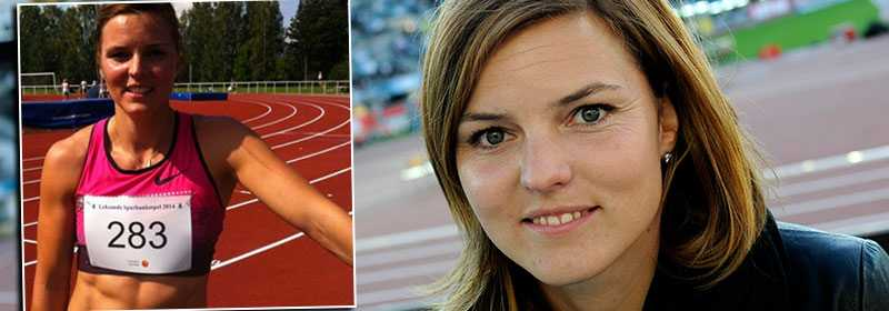 Susanna Kallur är äntligen skadefri - och hoppas på fler tävlingar i sommar.