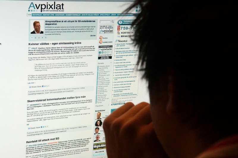 Sveriges största hatforum, internetsajten Avpixlat, har hyllats av hela SD-toppen.