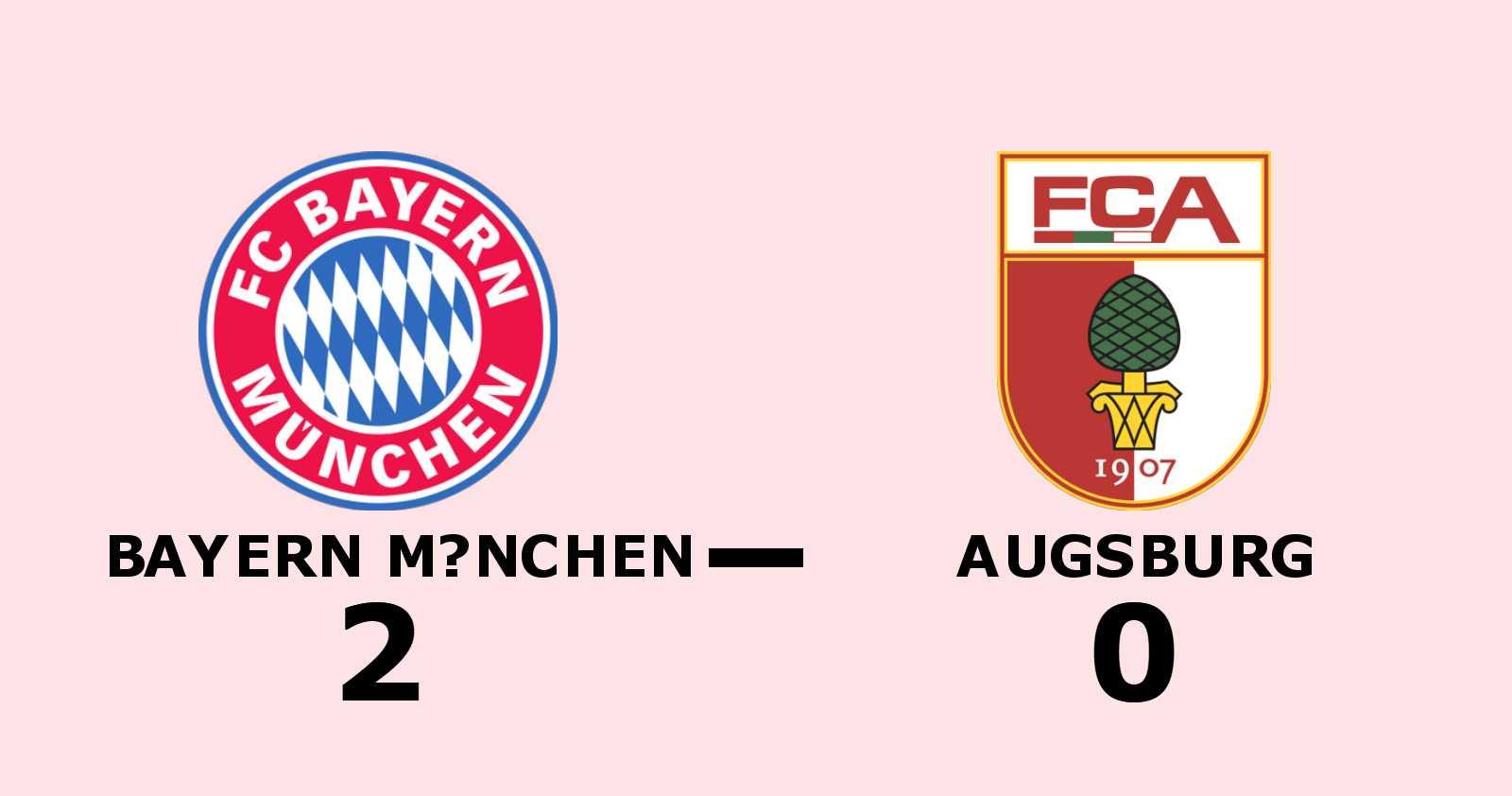 Bayern München utökar serieledningen efter ny seger