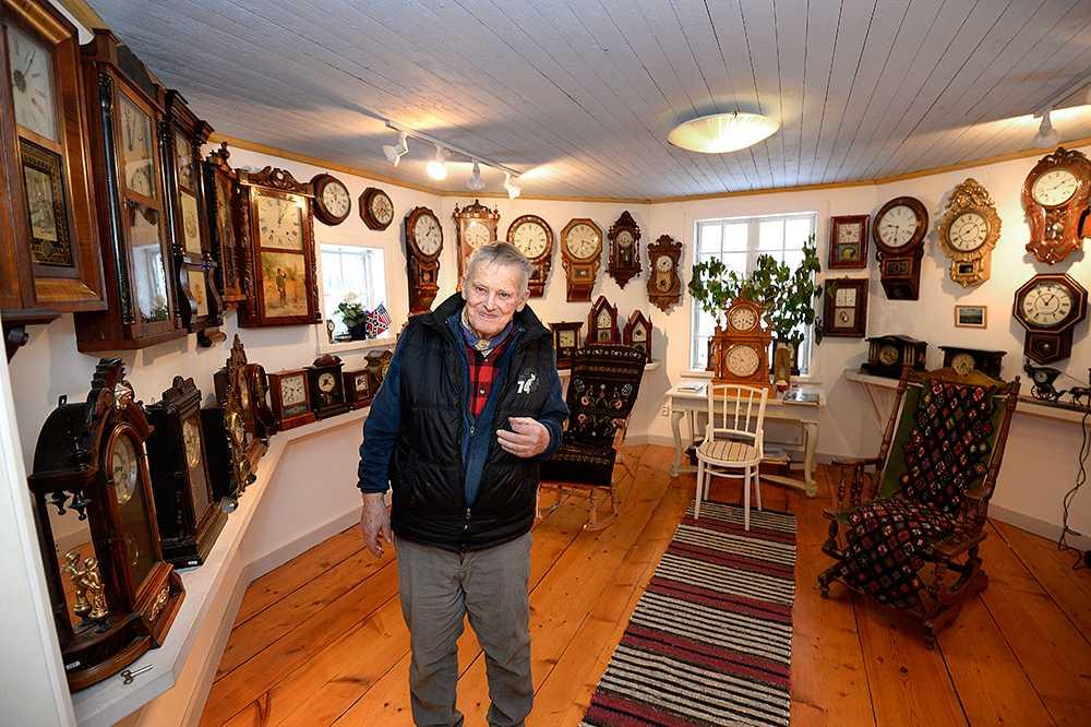 Torbjörn Holmer, 81, skaffade sin första klocka 1967.
