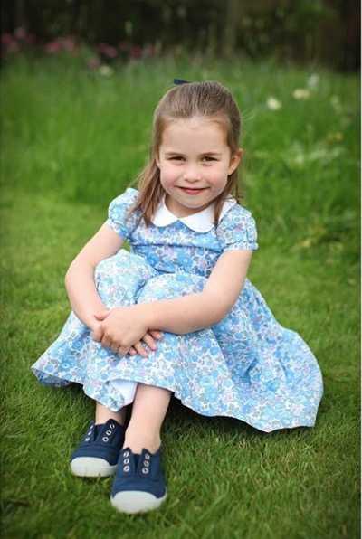Prinsessan Charlotte har fyllt fyra år.