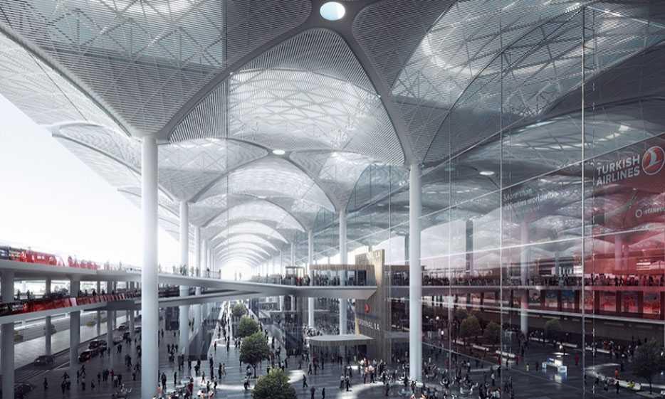 Istanbuls nya flygplats har ännu inget namn, men kommer att bli värdens största.