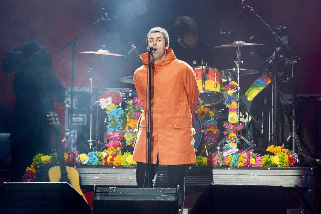 Liam Gallagher uppträder på välgörenhetsgalan One Love Manchester