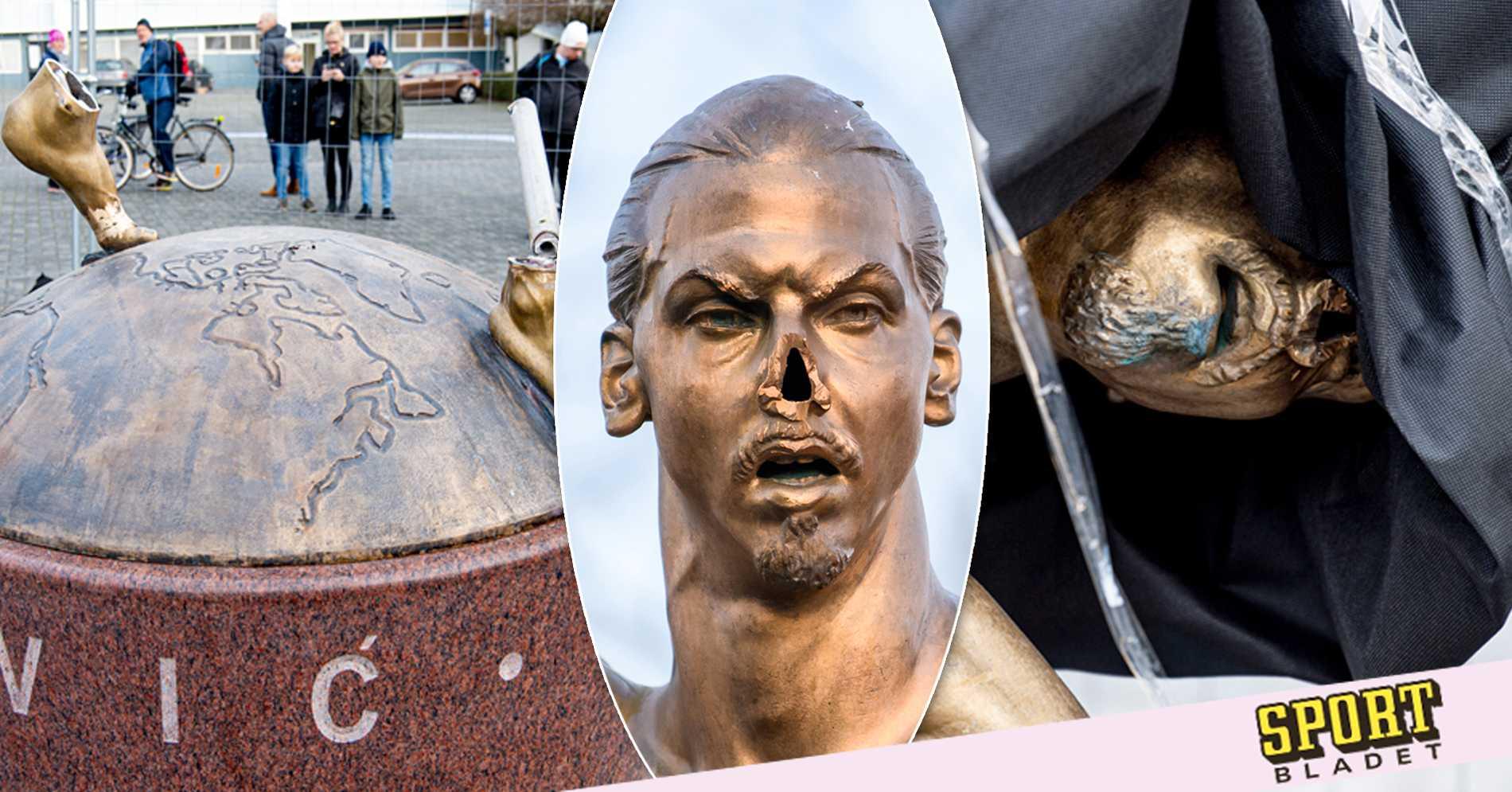 Stod i 107 dagar - Räkningen för Zlatan-statyn