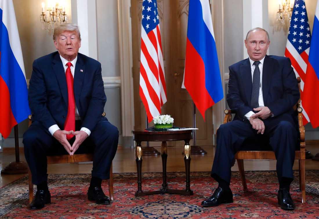 Relationerna mellan de två största kärnvapenmakterna USA och Ryssland är sämre än under delar av kalla kriget.