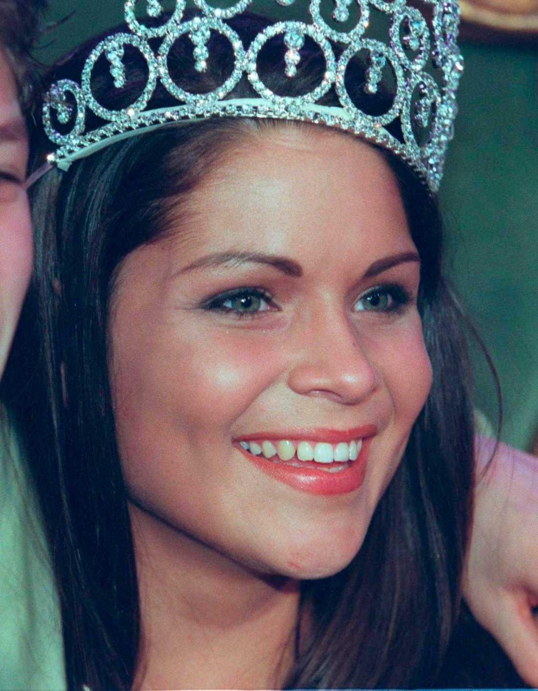 "Jessia Olérs vann ""Fröken Sverige"" 1988."