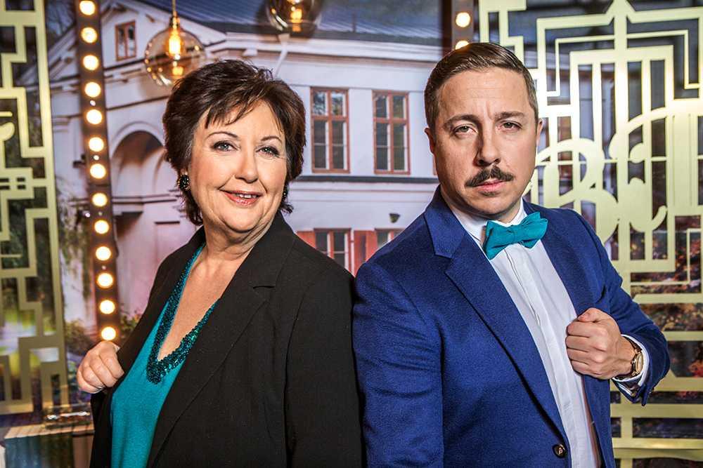 """Babben Larsson och David Sundin leder """"Bäst i test"""" i SVT."""