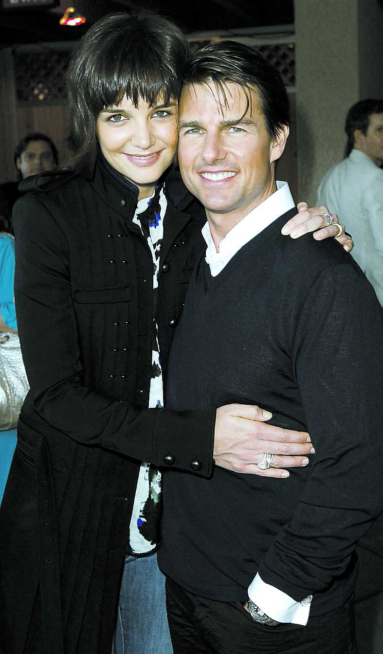 """""""Det finns saker som jag hade kunnat sköta bättre"""", säger Tom Cruise om förhållandet till sin fru Katie."""