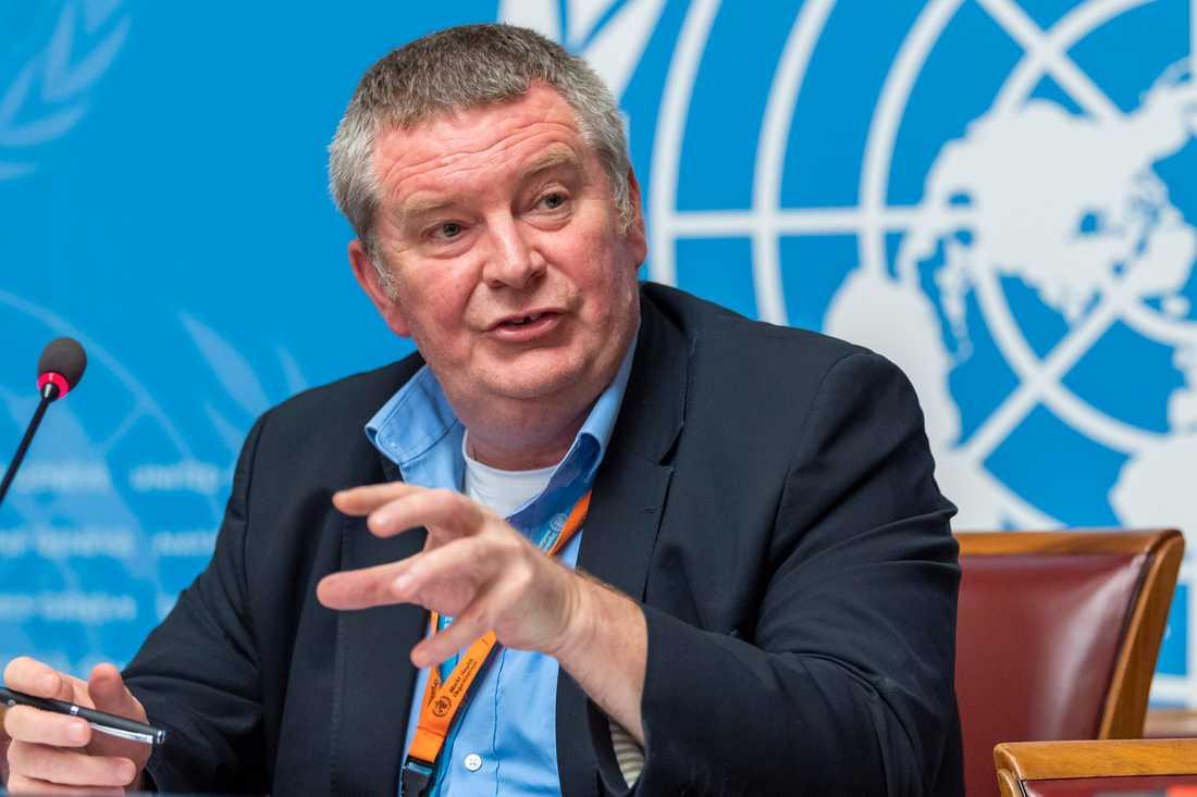 Michael Ryan, chef för WHO:s nödprogram. Arkivbild.