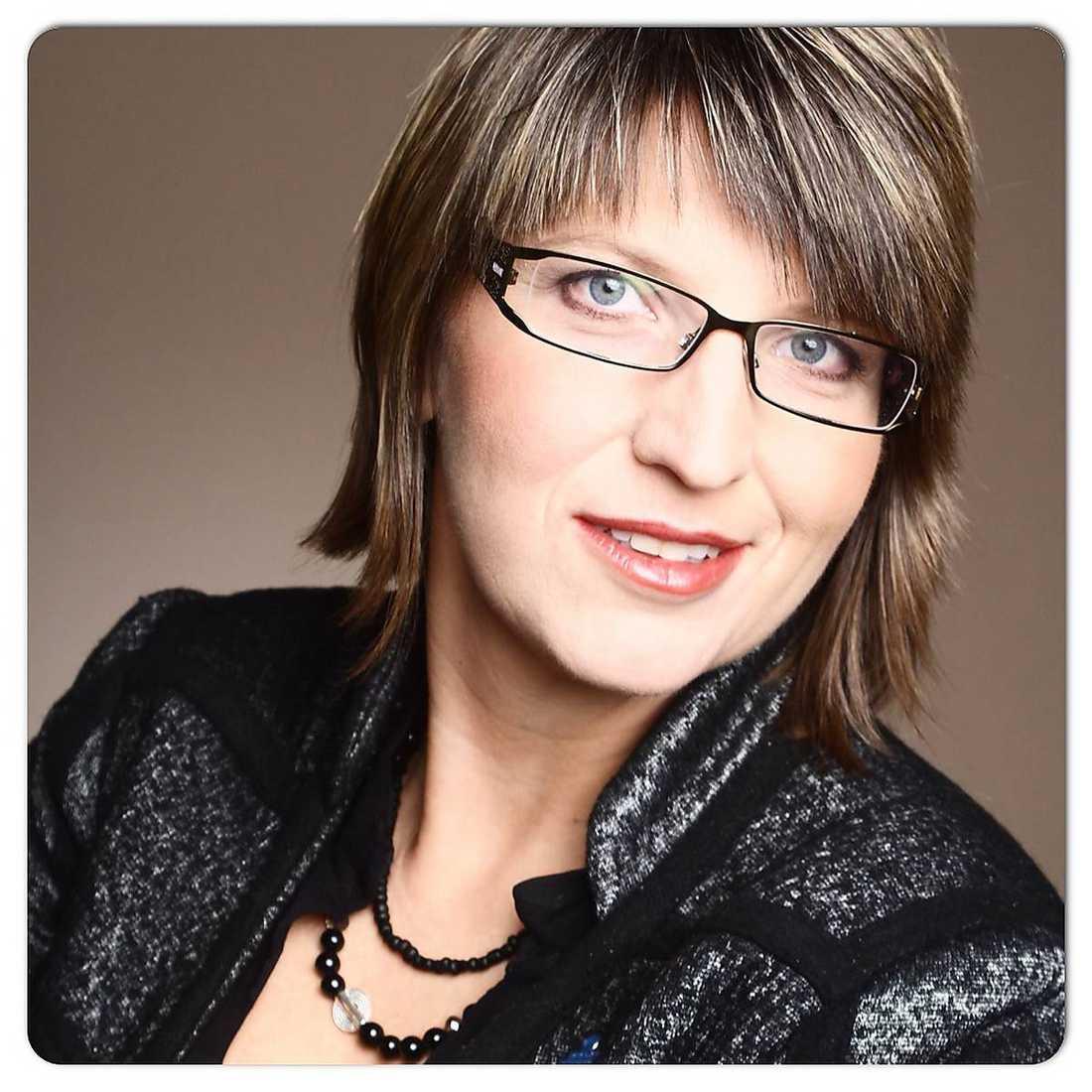 Helena Linge, musiklärare och andre vice förbundsordförande i Lärarnas Riksförbund