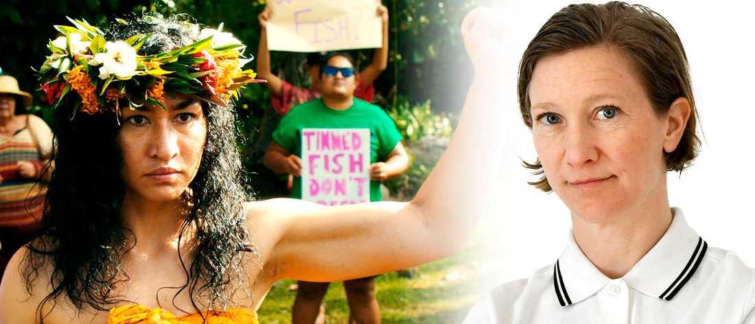 """T v ur filmen """"Vai"""", gjord av kvinnliga filmskapare från öar i södra Stilla havet."""