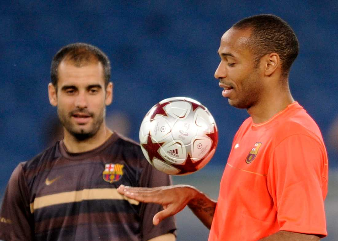 I samspråk med Thierry Henry.