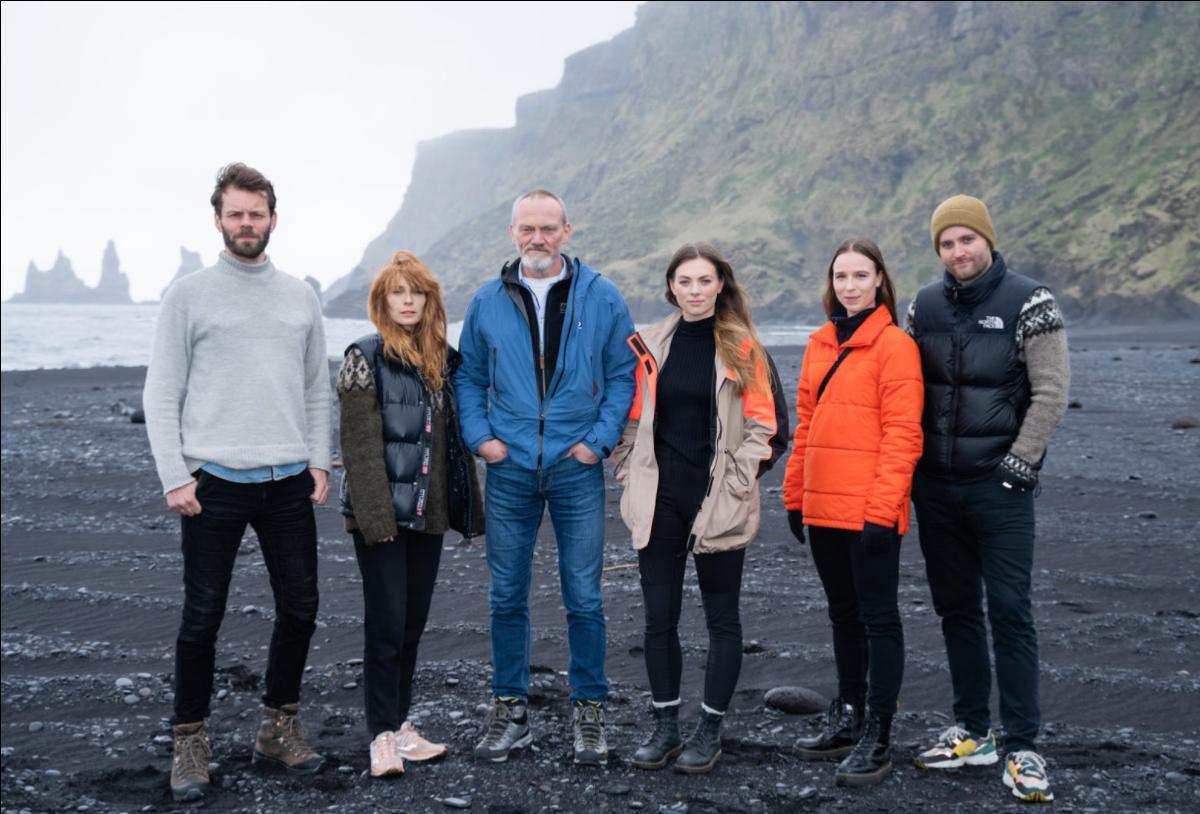 """Aliette Opheim och Valter Skarsgård i Netflix isländska sci-fi """"Katla"""""""