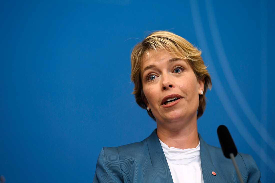 Annika Strandhäll.