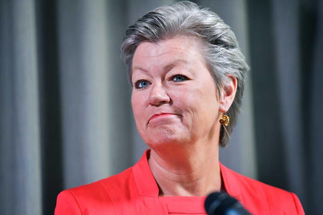 Ylva Johansson tar plats i den tillträdande EU-kommissionen från den 1 november.