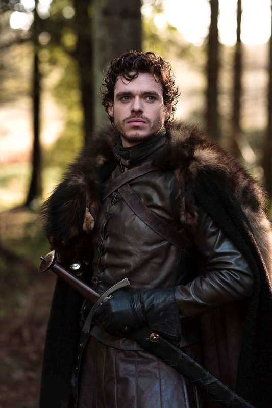 "Richard Madden i ""Game of thrones""."