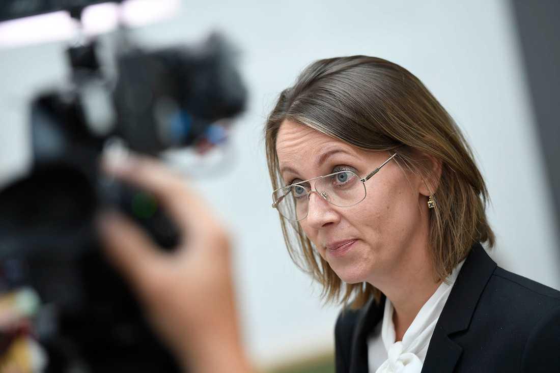 Arbogakvinnans advokat Amanda Hikes.