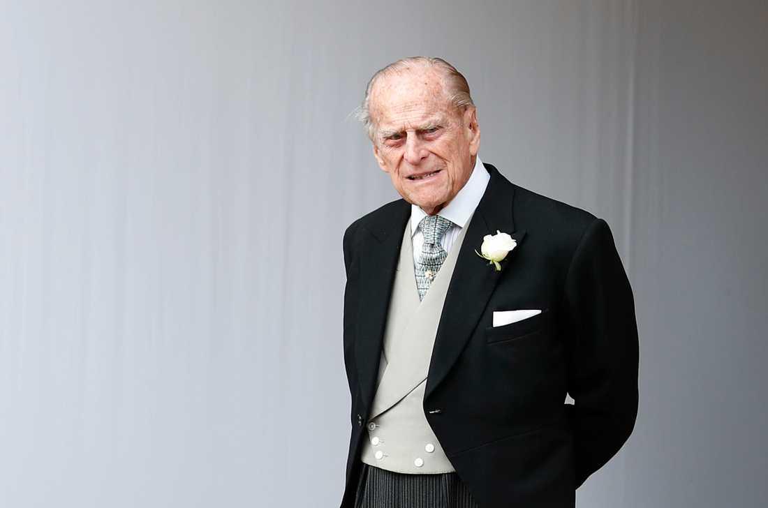 Storbritanniens prins Philip. Arkivbild från i januari 2019.