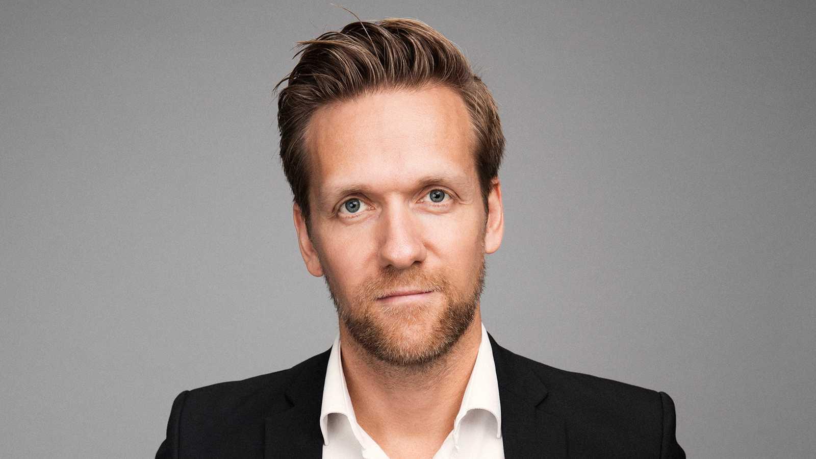 Daniel Lagerqvist, kommunikationsdirektör Discovery Sweden.