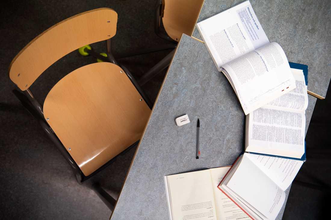 Lärarnas riksförbund välkomnar beskedet att högstadierna kan använda sig av distansundervisning. Arkivbild.