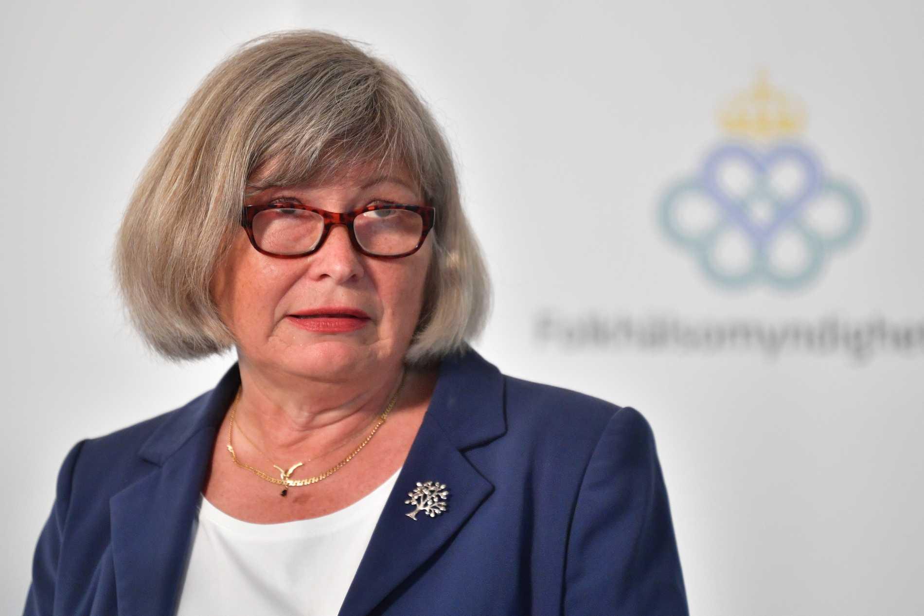 Lena Nyberg, generaldirektör för Myndigheten för ungdoms- och civilsamhällesfrågor. Arkivbild.
