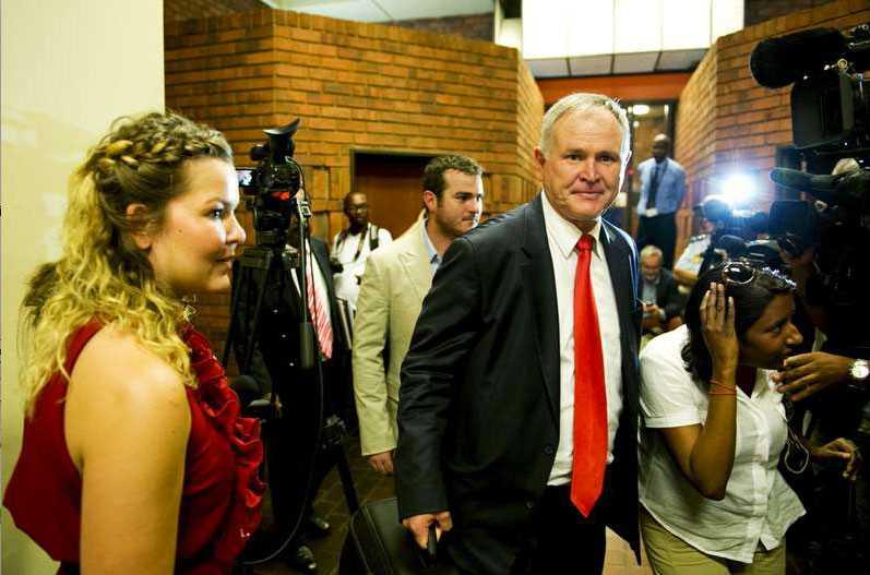 Försvarsadvokaten Barry Roux.