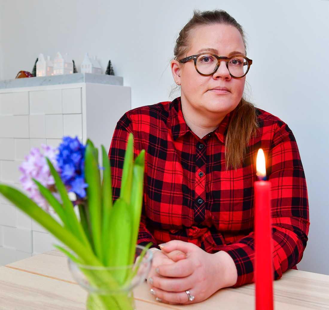"""""""Regelverket är komplicerat och det slår inte rätt"""", säger Caroline Danielsen om de norska inresereglerna."""